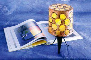 Zrób to sam - dekoracje, inspiracje, meble - Cztery Kąty  ABAŻUR Z GAZETY