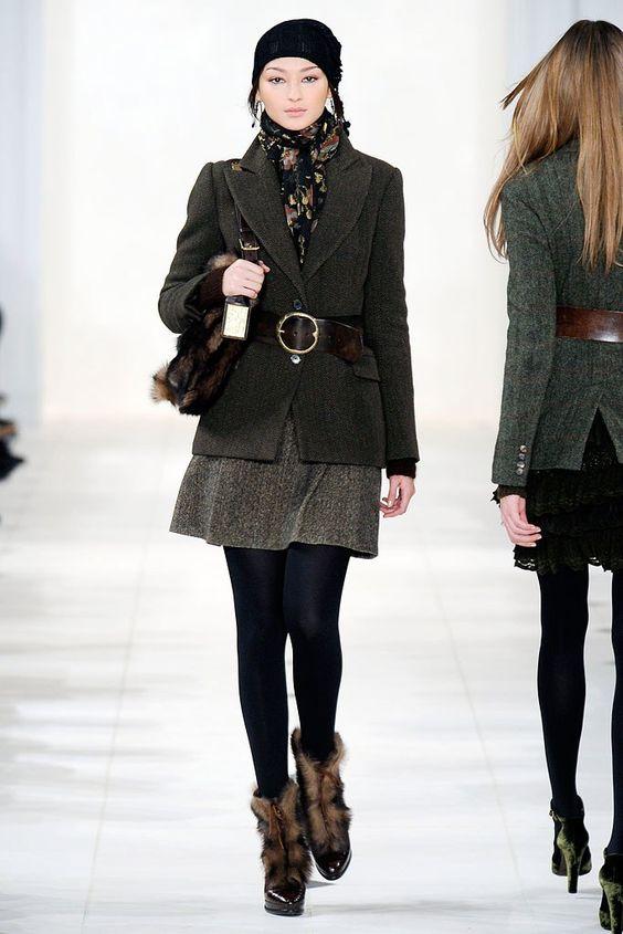Ralph Lauren Fall 2010 Ready-to-Wear Fashion Show - Bruna Tenorio