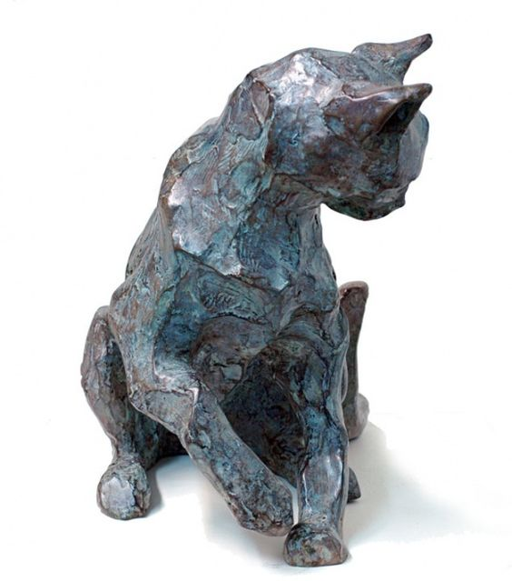 Bronze sculpture by Danièle Dekeyser                                                                                                                                                      Plus