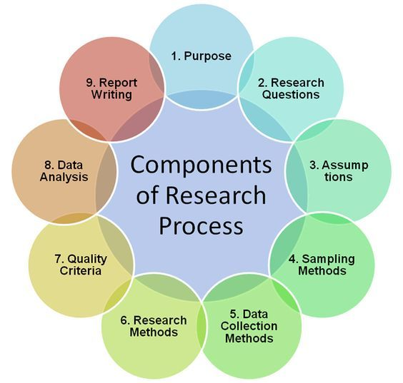 Components Of Research Process Infographic Writing A Business Plan How To Plan Party Planning Business
