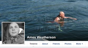 Ames Weatherson.. FAKE MILITARY https://www.facebook.com/LoveRescuers/posts/608595325973565 DIFFERENT MAN TO OTHER PICTURE