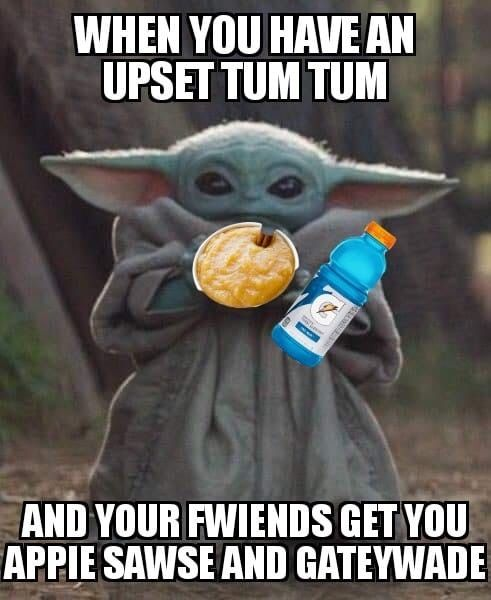 Baby Yoda Upset Tum Tum In 2020 Yoda Funny Yoda Meme Funny Babies