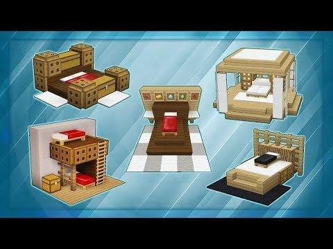 20 Minecraft Bed Designs You
