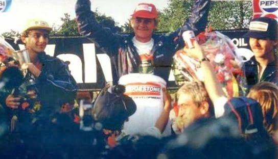 Ayrton Senna and Terry Fullerton(Karting days)