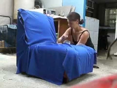 Como tapizar un sillon youtube costura pinterest - Como tapizar un sillon ...