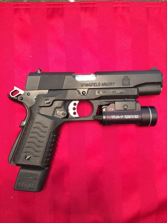 ReCover Tactical Grip and Rail System | 1911 grips and Guns