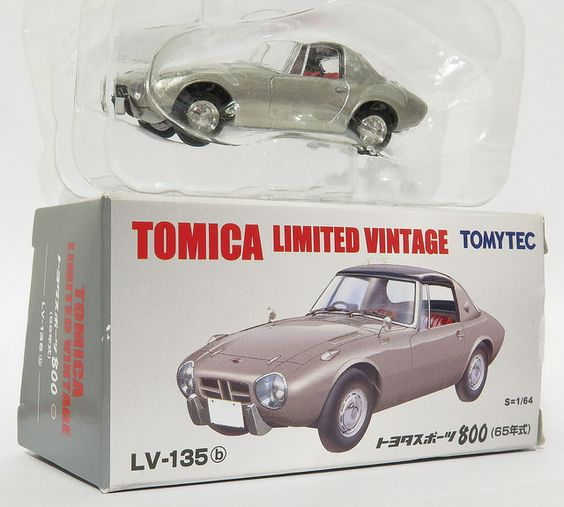 1/64 diecast collector: LV-135b - TOYOTA SPORTS 800