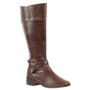 Low heel boot shoe for women, a casual, everyday shoe in brown color by Annie at $89.00