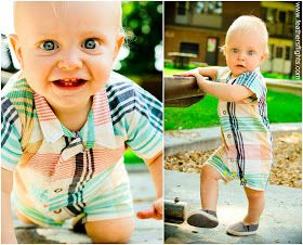 Feather's Flights {a creative, sewing blog}: Man's Shirt Baby Romper Pattern and Tutorial