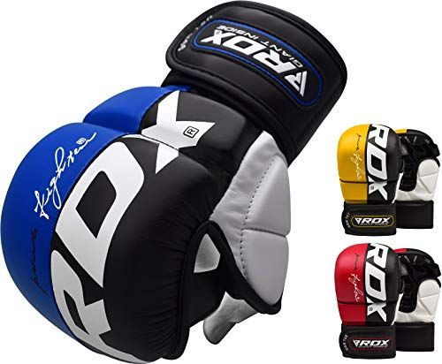 Boxing MMA UFC Gloves Grappling Punching Bag Training Martial Arts Sparring Mitt