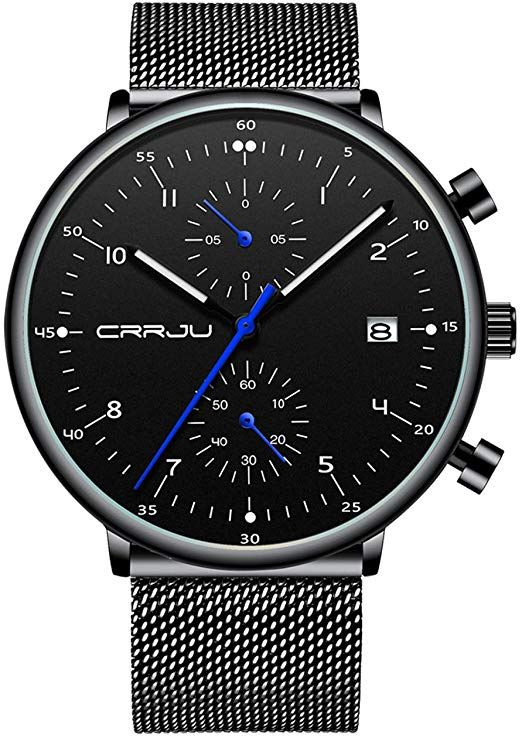 Mens Fashion Sport Watch For Gift Stylish Casual Dress Quartz Wrist Watches With Stainless S In 2020 Mens Watches Classy Mens Watches Affordable Luxury Watches For Men