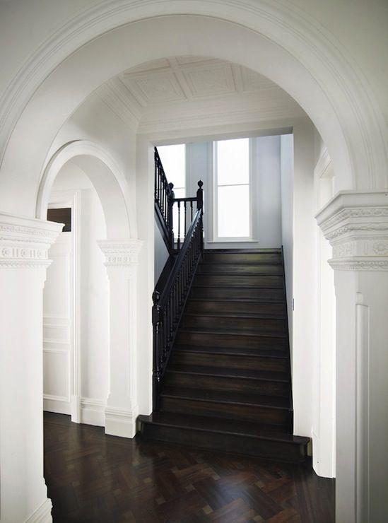 House Foyer Features : Denai kulcsar interiors entrances foyers arched