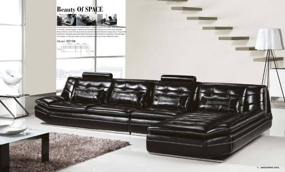 Luxury Modern U Shaped Leather Fabric Corner Sectional Sofa Set Design Couches For Living Room With Ottoman Living Room Sofa Design Corner Sectional Sofa Luxury Sofa Design