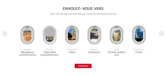 Air France lance un site dédié aux nouvelles cabines BEST