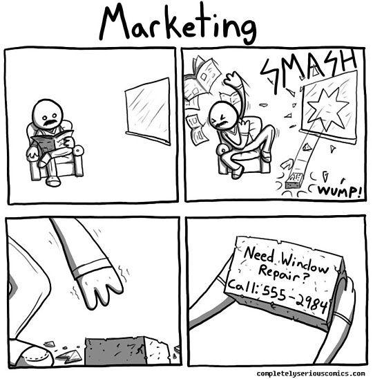Aggressive Marketing