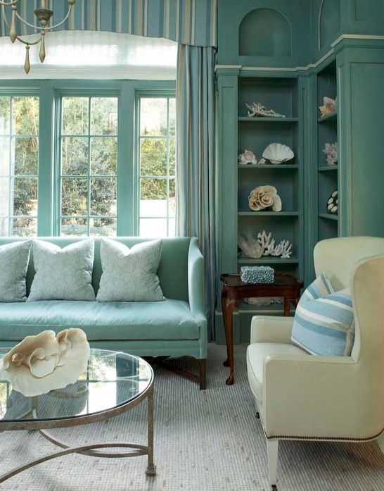 Living room #bookcases - [ Inspiration ] • Mint Explosion ...