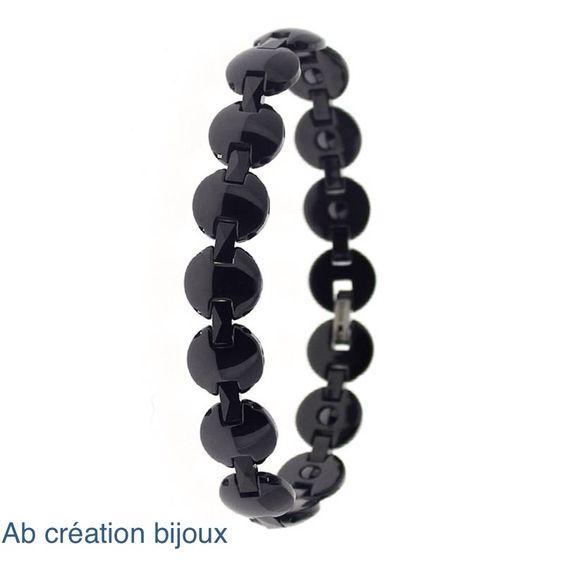 Bracelet homme en céramique
