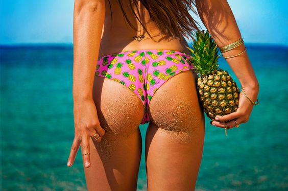 Mon Ananas bikini #bikini #swimwear #maillotdebain #fashion #2015 #ananas…
