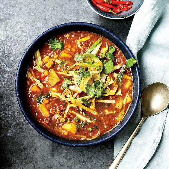 Burmese Samusa Soup
