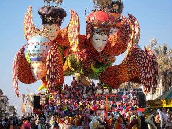 Italy's Viareggio Carnevale is a must-see event for those who love the riot of colours in the Caribbean and Latin America | Pic: Alexandra