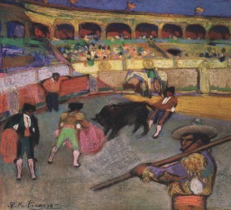 Picasso: vive la corrida (1900)