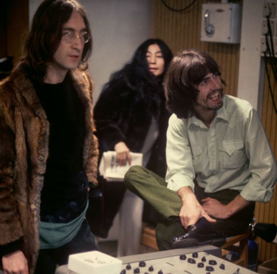 The Beatles in The 'Let It Be' Sessions in January 1969