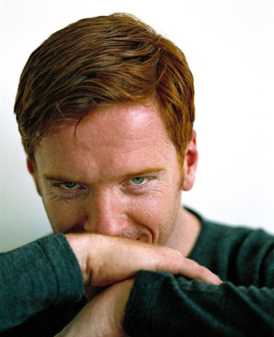 Damian Lewis - The perfect example of ginger done right.