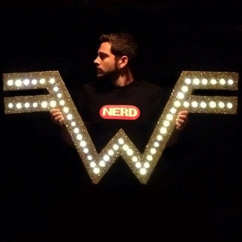 Zachary Levi & Weezer. He's my perfect man in every way!