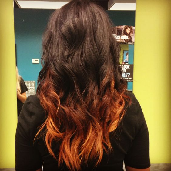 Ombre It Is And Copper On Pinterest