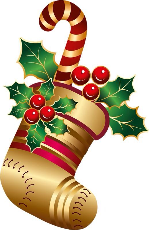 CHRISTMAS STOCKING CLIP ART : zorys : Pinterest ...