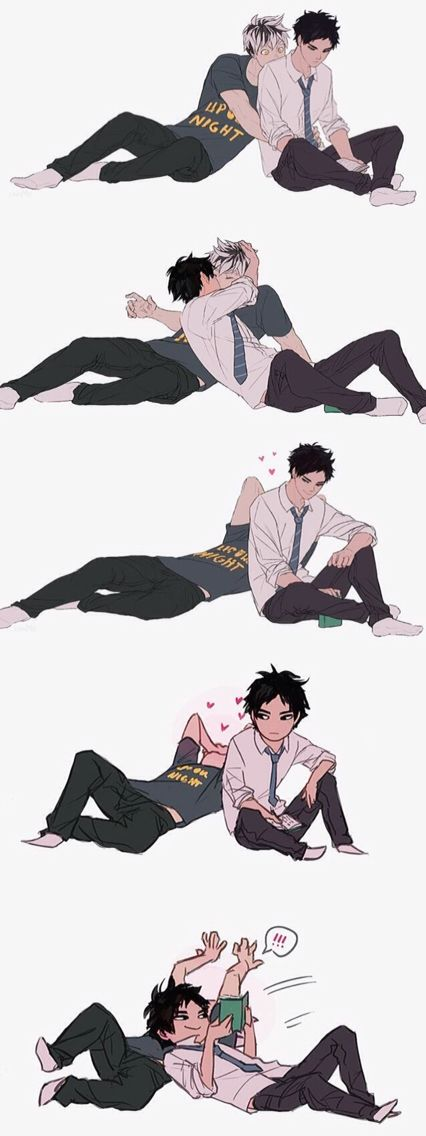 Akaashi's smile is what I live for <3: