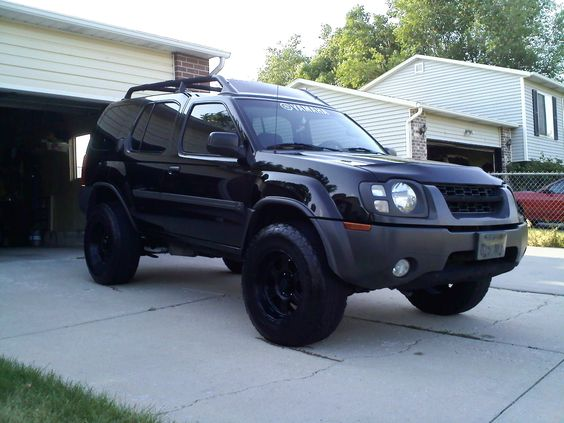 2002 nissan xterra xe supercharged 4wd hair beauty that i love pinterest all black. Black Bedroom Furniture Sets. Home Design Ideas