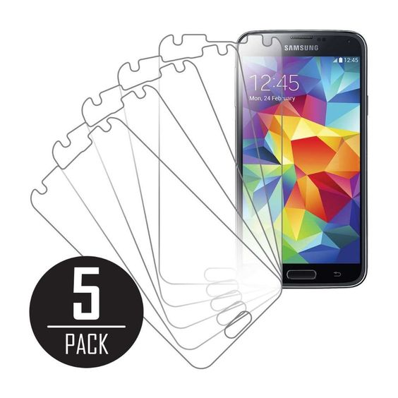 MPERO's clear screen protector for Samsung Galaxy S5 offers superior protection from scratches, dust, and dirt that may be accumulated from everyday use.
