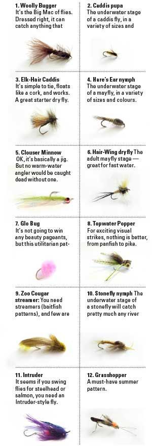 A Novice's Guide to Fly Fishing - Ontario OUT OF DOORS