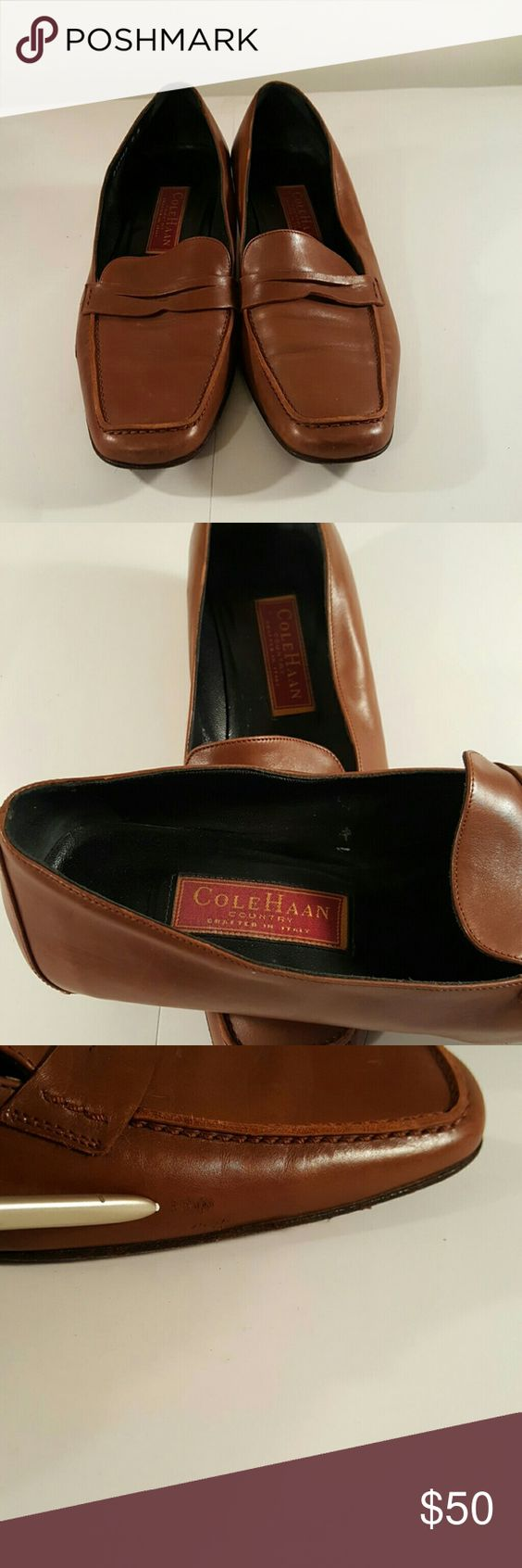 Shoes golden brown Leather Loafer Cole Haan Shoes Flats & Loafers