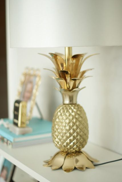 Pineapple Lamp Zara Home Blinded By The Lights
