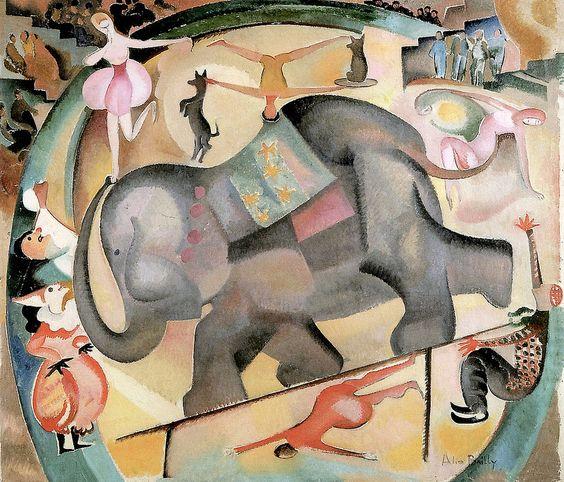 Alice Bailly - The Elephant