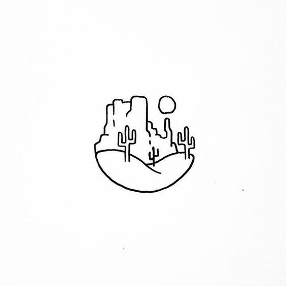 West Mitten Butte Dibujos Simples Tumblr Dibujos Simples