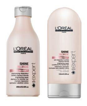 shine blonde shampooing et conditionner pour cheveux colors mchs ou balays blonds tous nos - Soin Cheveux Colors Blond