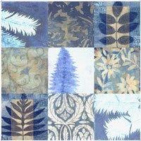 Framed Blue Textures 9 - Patch