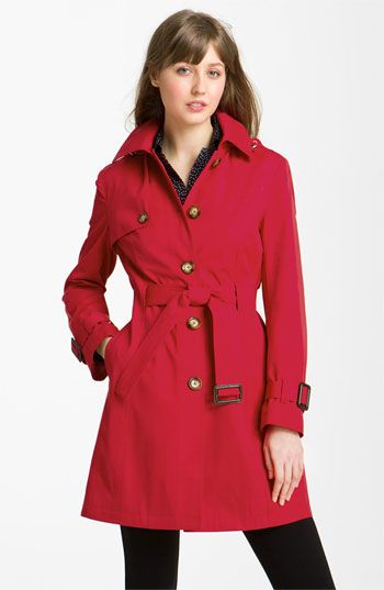 MICHAEL Michael Kors Belted Trench with Detachable Liner available at #Nordstrom