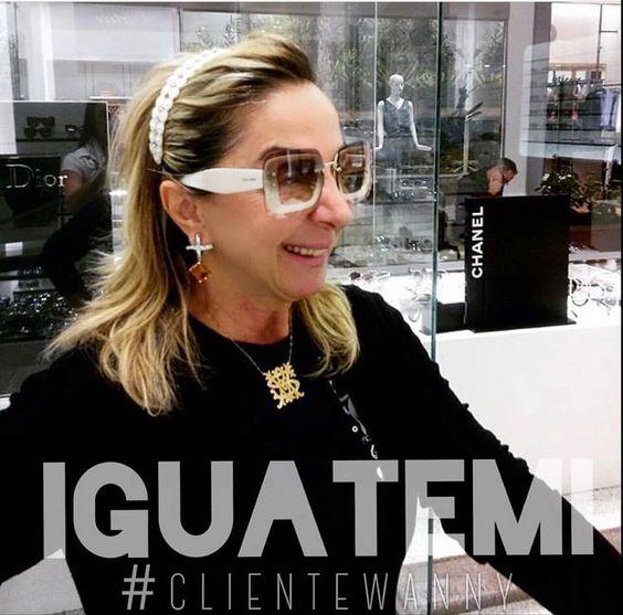 #clientewanny #IGUATEMI !!!! ✨ PODEROSA com o seu @miumiu 👓👓👓😍😍😍 #oculos #miumiu #oticaswanny @samiaasmar #repost @andressa_oticaswannyiguatemi