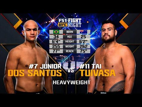 Ufc 252 Free Fight Junior Dos Santos Vs Tai Tuivasa Youtube In 2020 Junior Dos Santos Ufc Ufc Heavyweight Champion