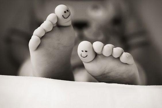 Smiley baby toes.... @Sandra Pople