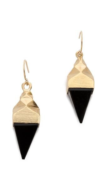 Dean Davidson Small Ingot Earrings