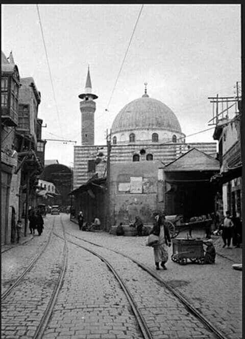 محله السنانية وجامع سنان باشا ١٩٣٥ Damascus Syria Old Photos This Is Us Quotes