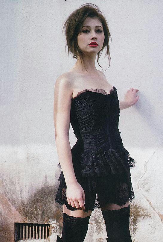 まるでお人形さんのようなダレノガレ明美
