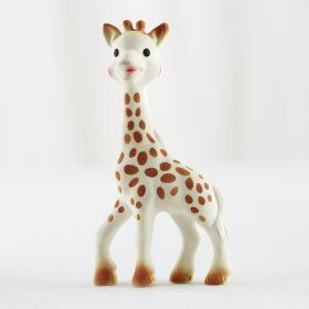 Giraffe Baby Teether in Teethers & Rattles | The Land of Nod