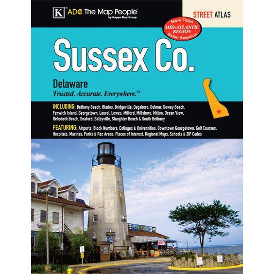 Sussex County Delaware Atlas