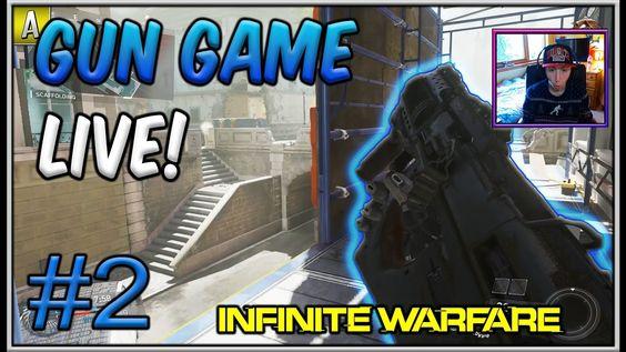 """""""EPIC COMEBACK...?!"""" - Infinite Warfare GUN GAME! #2 - LIVE"""